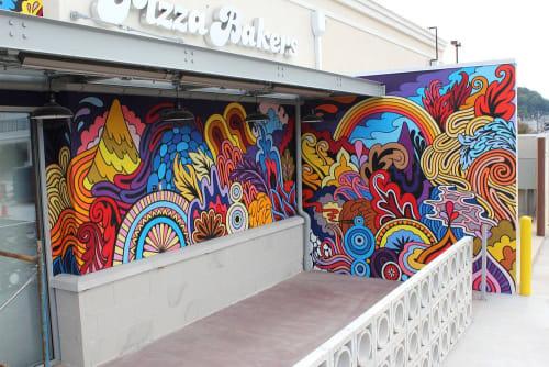 Mellow Mushroom Mural | Murals by Rather Severe | Mellow Mushroom in Roanoke