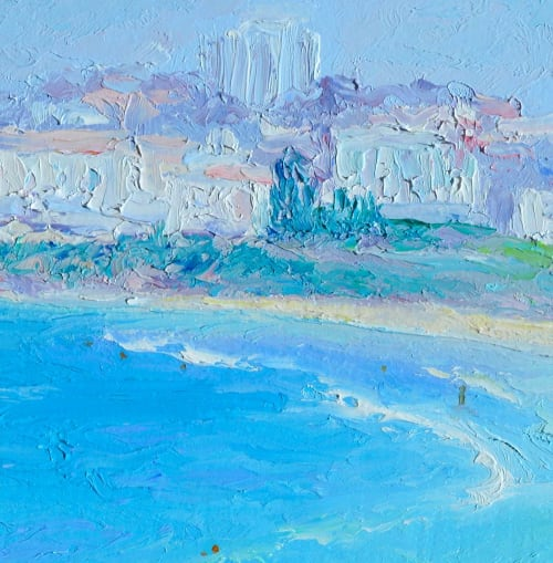 Paintings by Jan Matson seen at Private Residence, Canberra - Bondi Beach, Sydney