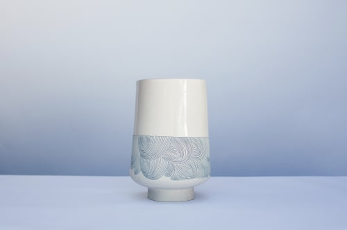 Interior Design by Linda Fahey // Yonder Shop + Studio at Yonder Shop, San Francisco - Large wave vessel