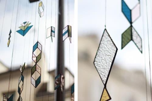 Art & Wall Decor by Bespoke Glass seen at Sessùn Charonne, Paris - Sessùn x Bespoke: Stained Glass Window Treatment