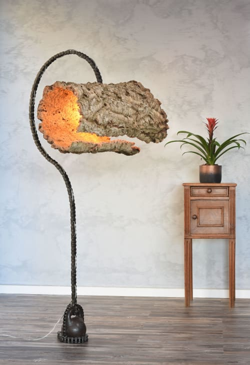 Lighting Design by TOMER DEKEL - LIGHTING ART seen at Private Residence, Tel Mond - Anchor Light Sculpture