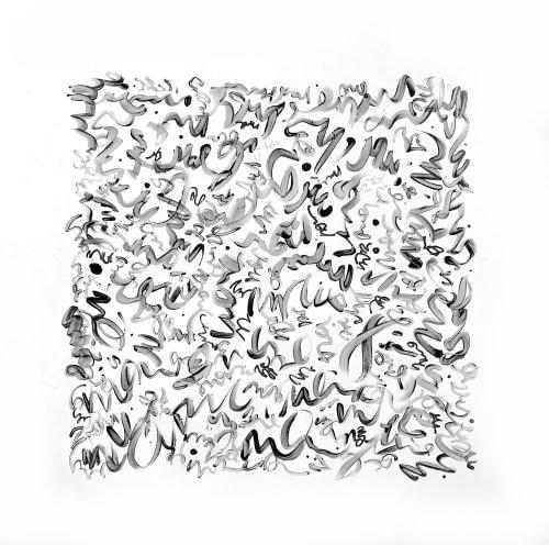 'SCRiPTURE'   Paintings by Linnea Heide contemporary fine art