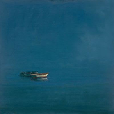 "Art & Wall Decor by YJ Contemporary seen at East Greenwich, East Greenwich - Anne Packard ""Two Dories"""