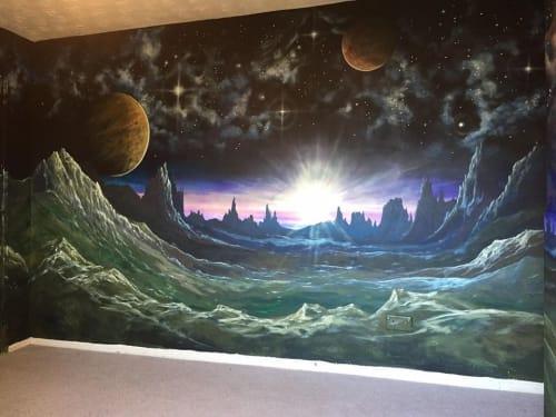Brandon Higgins - Murals and Art