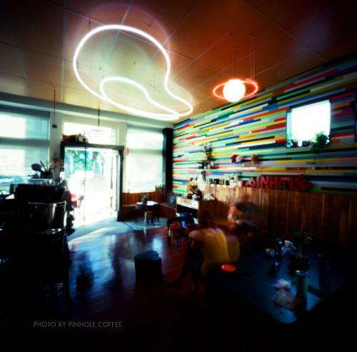 Pinhole Coffee, Cafès, Interior Design