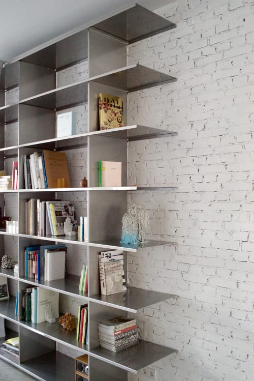 Furniture by Phil Procter seen at Private Residence, Rotterdam - Marnet Shelving
