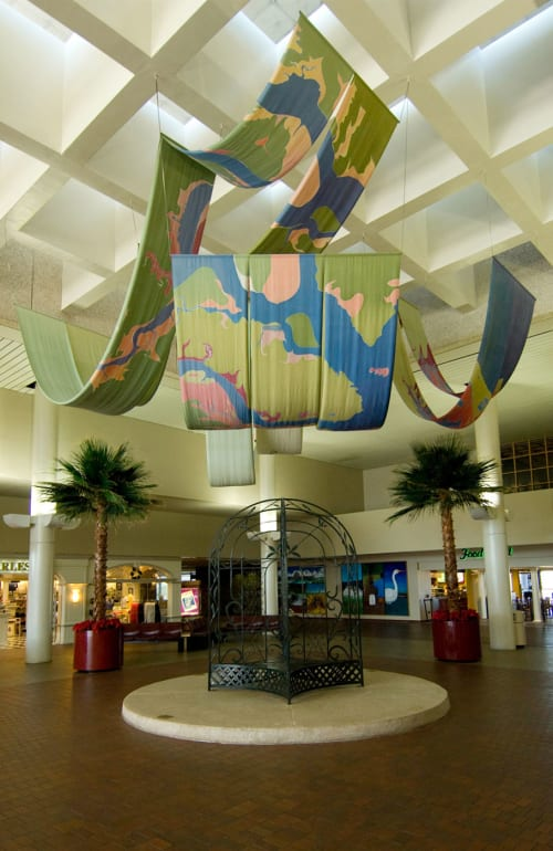 Art & Wall Decor by Mary Edna Fraser seen at Charleston International Airport, North Charleston - Charleston Waterways