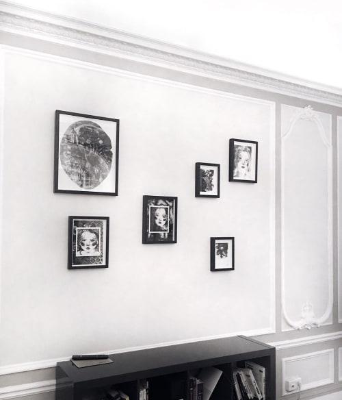 Paintings by Emma Vidal seen at Palais Garnier, Paris - Drawings Series