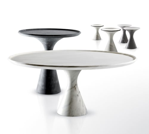 Tables by Kreoo seen at Private Residence, Saint Petersburg - Torre Table