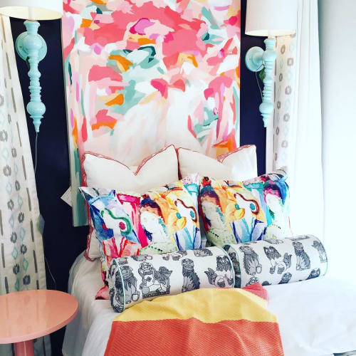 Pillows by Cotton & Quill seen at cotton + quill, Mountain Brook - Custom Pillows