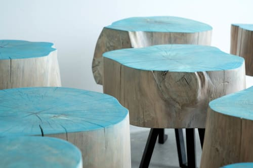 Tables by Alabama Sawyer seen at Haint Blue Brewing Co., Mobile - Sputnik Table