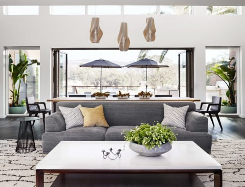 Lighting Design by PATH seen at Private Residence - CLOVE Lamp / Napa House