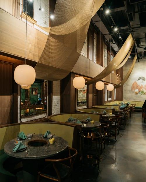Interior Design by New Practice Studio at Tang Hotpot, New York - Interior Design