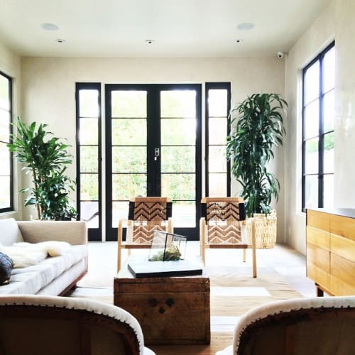 Chairs by Pacific Wonderland Inc seen at Private Residence, West Hollywood - Palapa Lounge Chairs