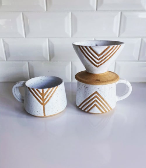Vases & Vessels by Muddy Mood seen at Private Residence, San Francisco - Coffee Dripper
