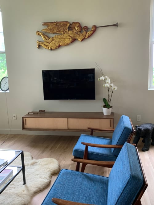 Furniture by Woods Furniture & Design seen at Private Residence, Boston - Media Console,  Arthur