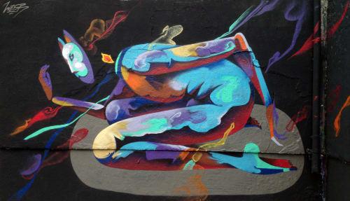 WESR | Danny Figueroa - Murals and Street Murals