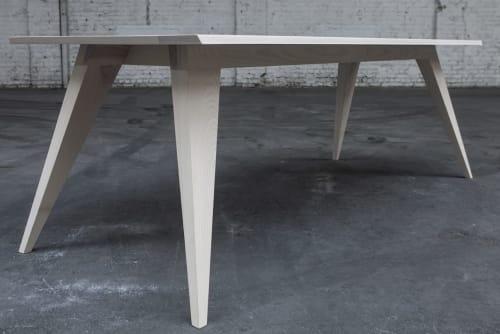 Tables by Ruben Deriemaeker (DERI3) seen at Antwerp, Antwerp - 'SIMON' Dining Table