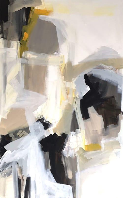 Paintings by Linnea Heide contemporary fine art seen at Asheville, Asheville - 'EUPHORiA' original abstract painting by Linnea Heide