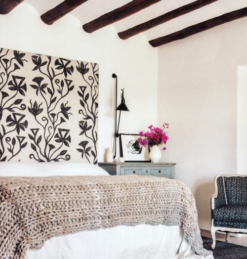Paintings by Lindsey J. Porter seen at Private Residence, Santa Fe - Botanical No. 59