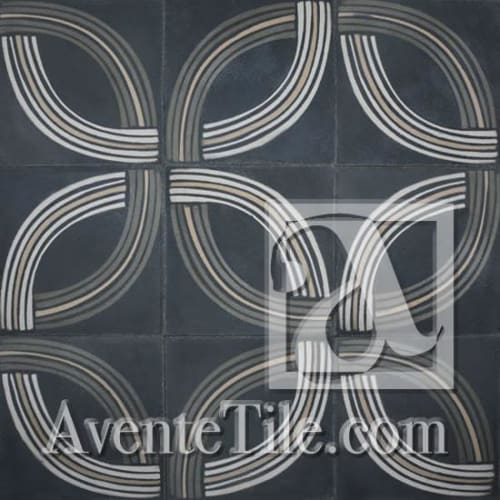 Tiles by Avente Tile seen at Bluewater Grill Seafood Restaurant, Redondo Beach - Union Cement Tiles
