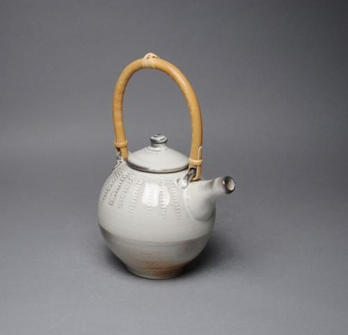 Tableware by John McCoy Pottery seen at Private Residence, Barnard - Teapot