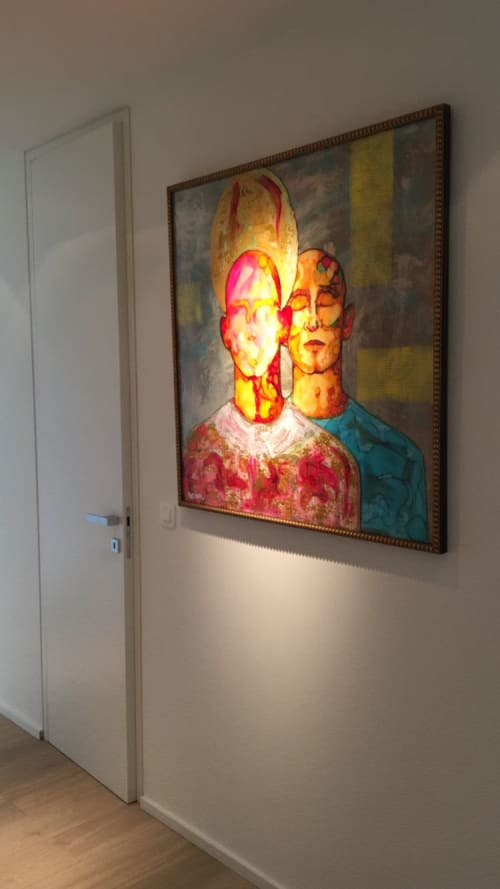 Paintings by Beddru seen at Private Residence, Brussels - ALTER EGO