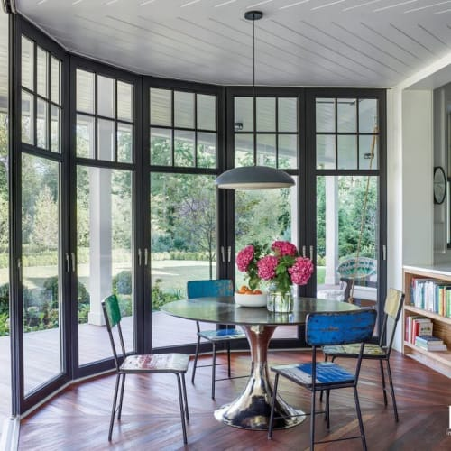 Chairs by From the Source seen at Private Residence, New York - Pele Dining Chairs