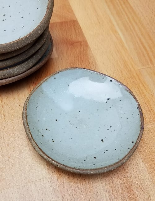 Ceramic Plates by Dowd House Studios seen at Creator's Studio, Alpine - Tiny Stoneware Bowls
