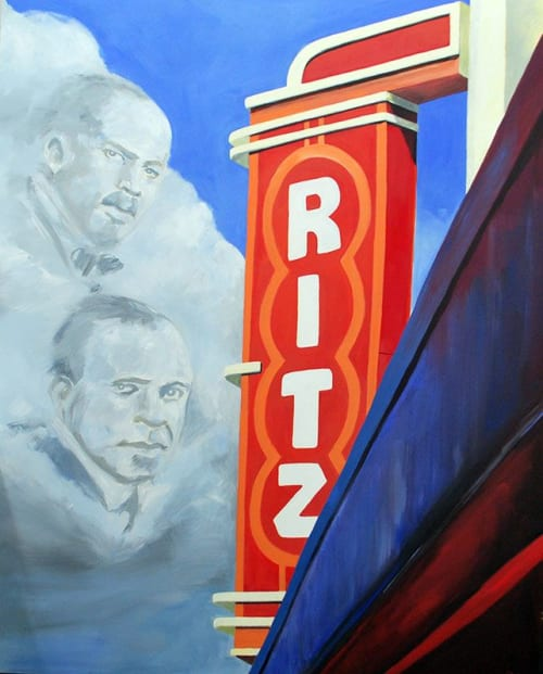 Paintings by Keith Doles seen at Lofts at Monroe, Jacksonville - Legacy