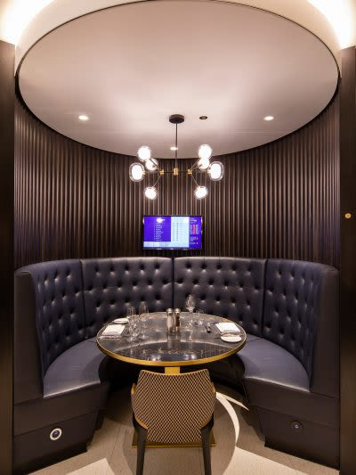 Chandeliers by TOOY seen at Tottenham Hotspur Stadium, London - Nabila