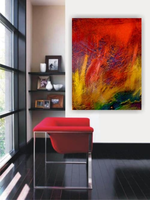 Paintings by Barfoot Fine Art seen at Private Residence, Hachioji - Anger Management
