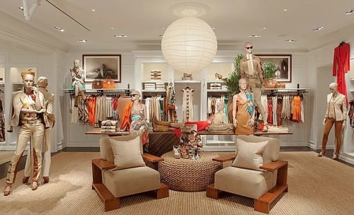 Interior Design by NINETYNINEGROUP seen at Ralph Lauren Women's, New York - Ralph Lauren - Madison Ave NY