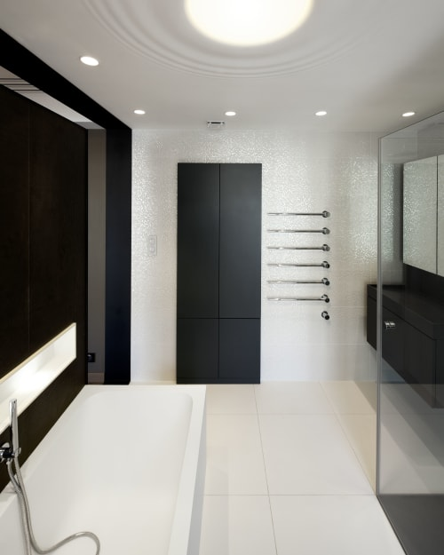 Furniture by Vola seen at Private Residence, 7th arrondissement of Paris, Paris - Towel Warmer