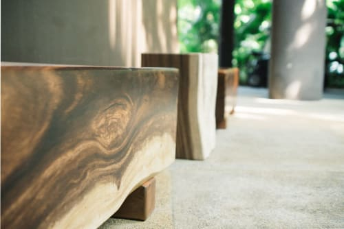 Benches & Ottomans by Roger&Sons seen at Mandai Zoo, Singapore - Mandai Zoo Bench