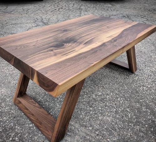 Tables by Barnboardstore seen at Toronto, Toronto - Walnut Coffee Table