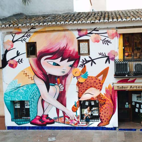 Wall Mural | Murals by Julieta XLF | Taller Artesano in Eliana ( L')