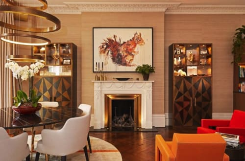 Art Curation by Dave White seen at Private Residence, London - Red Squirrel, Albion Collection