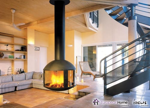 Interior Design by European Home seen at Private Residence, Middleton - Agorafocus 850 Suspended Fireplace