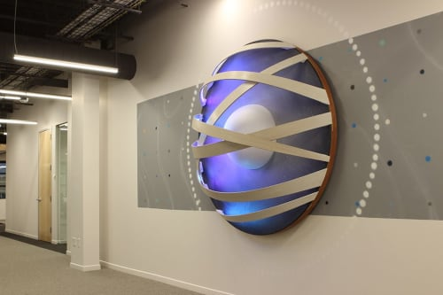 Art & Wall Decor by Erik Otto seen at LinkedIn, Omaha - The Future is Bright