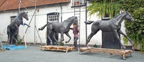 Amy Goodman. Sculptor & Portrait Artist - Public Sculptures and Public Art
