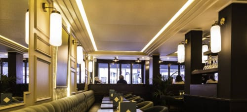 Sconces by Vanessa Mitrani Créations seen at Le Chalet, Paris - Wall Lamp, made to measure
