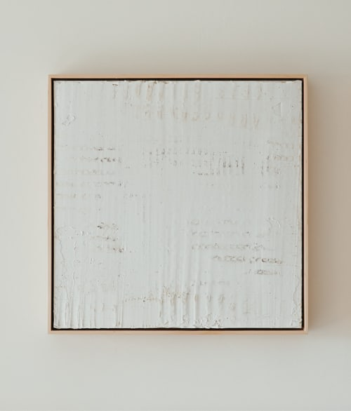 Paintings by Monica Curiel seen at Private Residence, Kansas City - Broken Weave, 2021