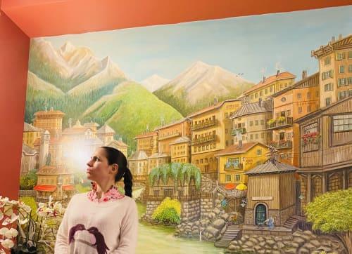 Murals by Lia Art seen at New York, New York - Murals