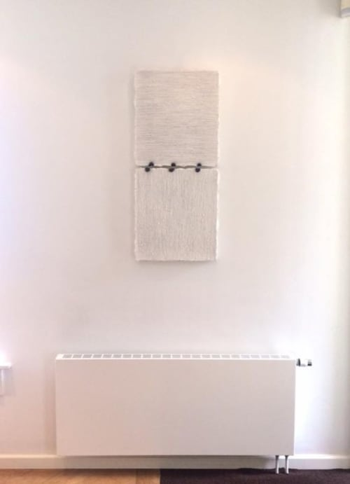 Paintings by Terri Brooks seen at Private Residence, Utrecht - Hinged Edges