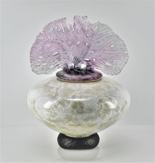 Sculptures by Debra Steidel seen at Steidel Fine Art, Wimberley - Ocean Whispers  Opal Pearl