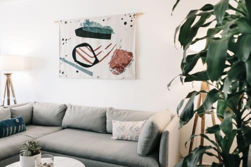 Wall Hangings by K'era Morgan seen at Private Residence, Santa Monica - Woven Wall Tapestry