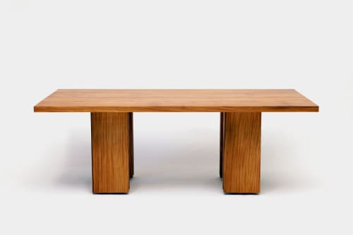 Tables by ARTLESS seen at Private Residence, Los Angeles - Occidental Tables + Benches