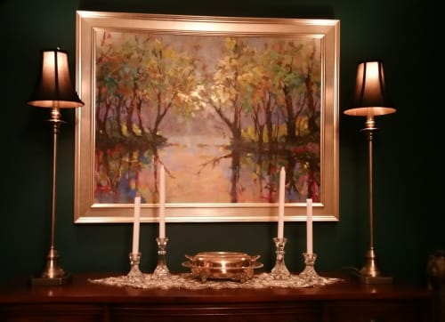 Art Curation by Trisha Adams seen at Private Residence, Washington - Collector's Dining Room