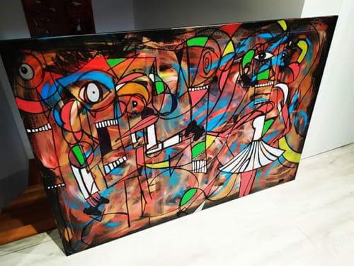 Art Curation by Arte Entre Latas seen at Private Residence, Villanueva del Pardillo - The Big One!